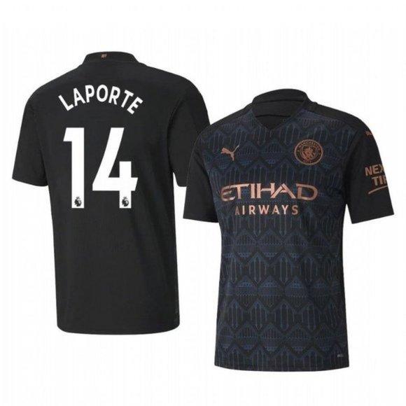 Manchester City Aymeric Laporte Away Jersey